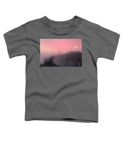 Pink Fog At Dawn Toddler T-Shirt