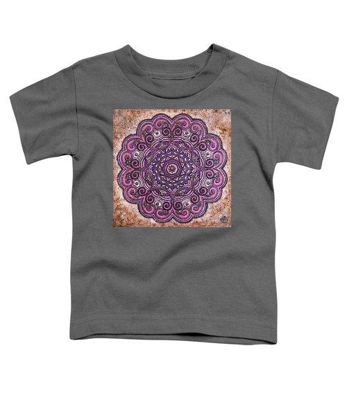 Pink Mandala Toddler T-Shirt