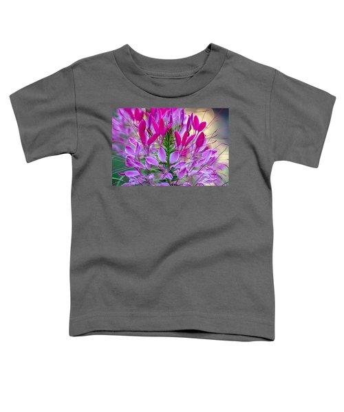 Pink Queen Flower Toddler T-Shirt