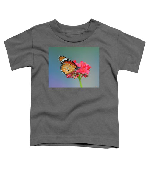 Plain Tiger Or African Monarch Butterfly Dthn0246 Toddler T-Shirt