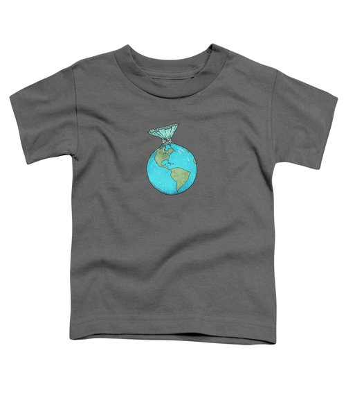 Plastic Planet Toddler T-Shirt
