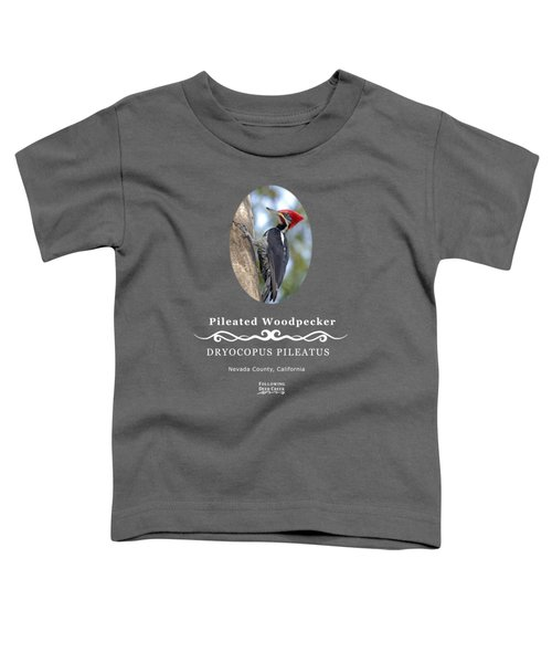 Pleated Woodpecker Toddler T-Shirt