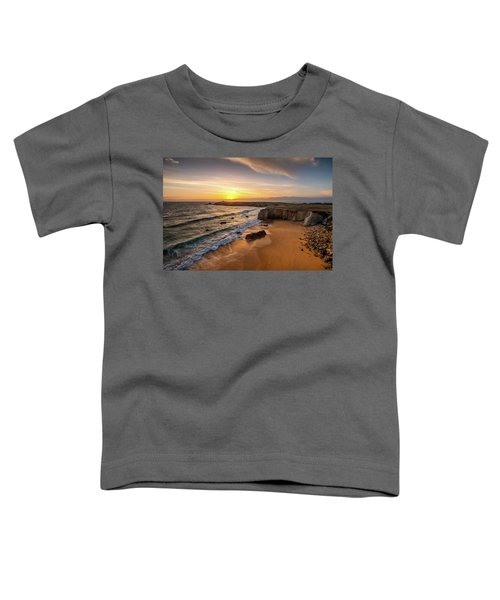 Pointe Du Percho And Port Blanc Toddler T-Shirt