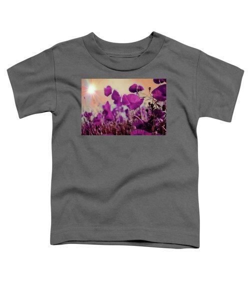 Poppies In Sunlight Toddler T-Shirt