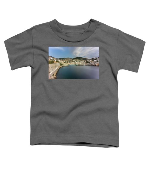 Port At Hydra Island Toddler T-Shirt