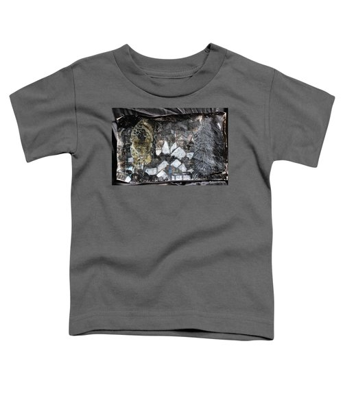 Power Strolled Onto The World Toddler T-Shirt