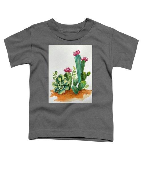 Prickly Cactus Toddler T-Shirt