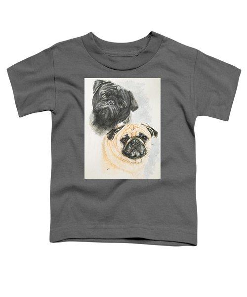 Pug Brothers Toddler T-Shirt