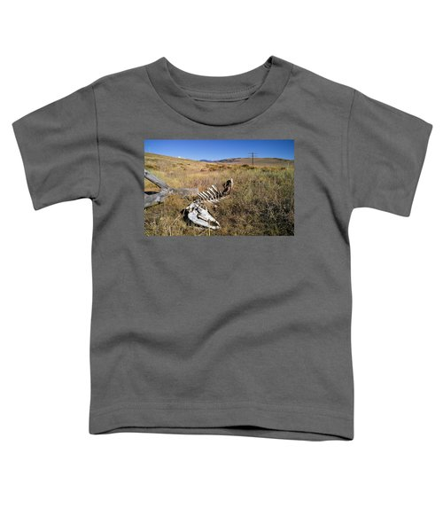Toddler T-Shirt featuring the photograph Quietus by Carl Young