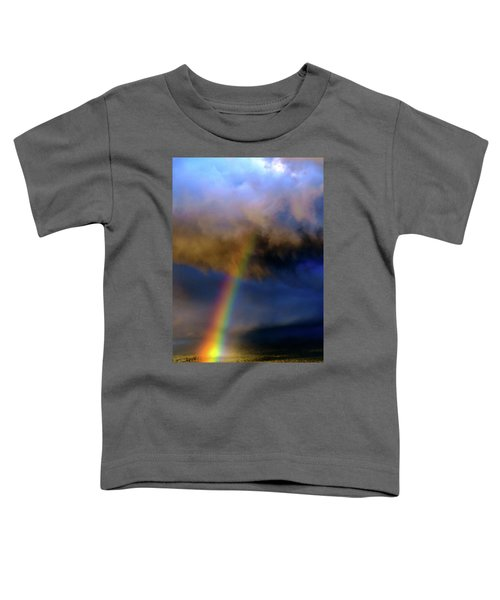Rainbow During Sunset Toddler T-Shirt