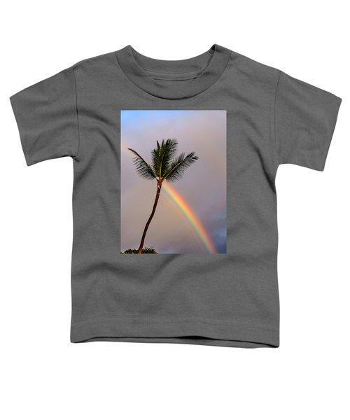 Rainbow Just Before Sunset Toddler T-Shirt