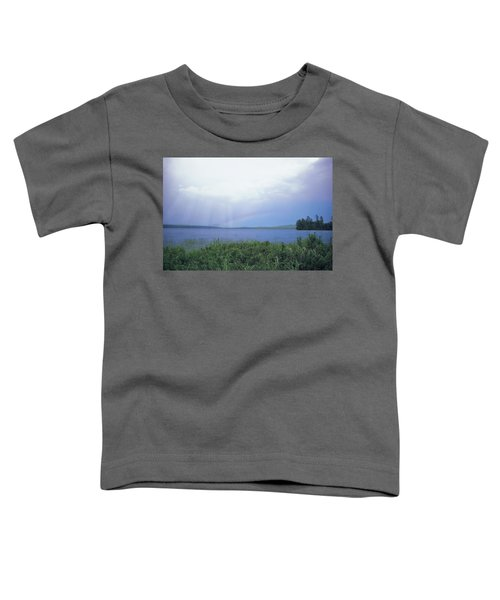 Rainbow Over Raquette Lake Toddler T-Shirt