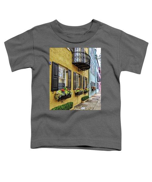 Rainbow Row Up Close Toddler T-Shirt