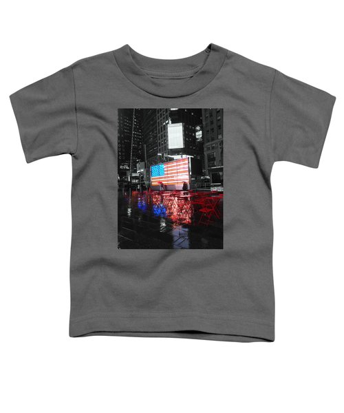 Rainy Days In Time Square  Toddler T-Shirt