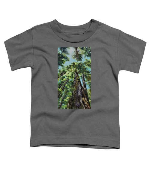 Reaching For The Light Toddler T-Shirt