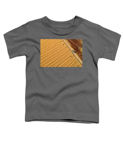 Toddler T-Shirt featuring the photograph Ready For More by Carl Young