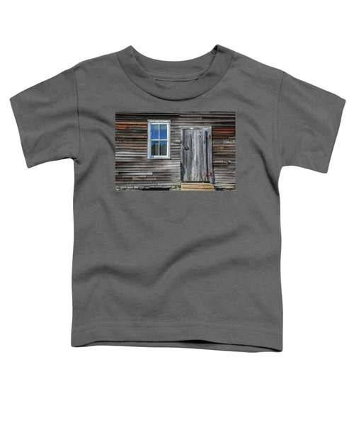 Rear Barn Door Toddler T-Shirt