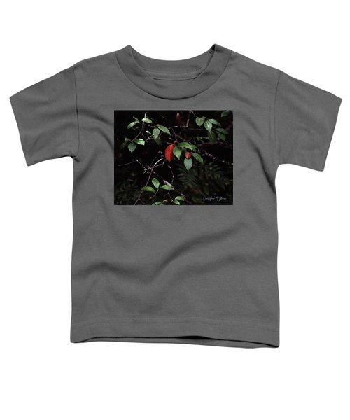 Red Leaf Toddler T-Shirt