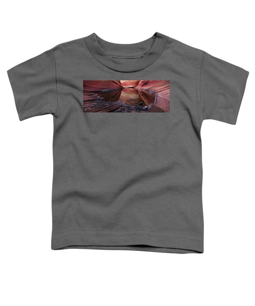 Reflection Of Cliffs In Water Toddler T-Shirt