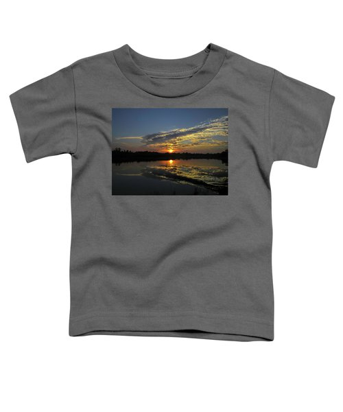 Reflections Of The Passing Day Toddler T-Shirt