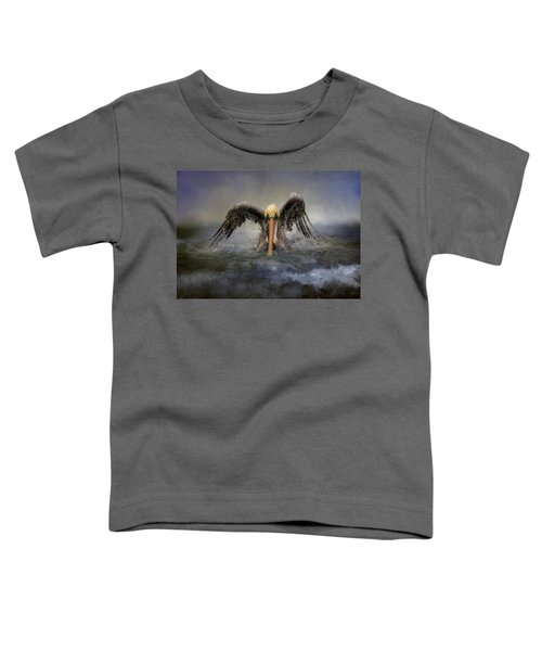 Riding The Storm Out Toddler T-Shirt