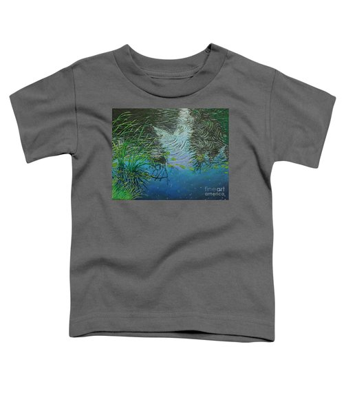 River ...ripples And Reeds Toddler T-Shirt