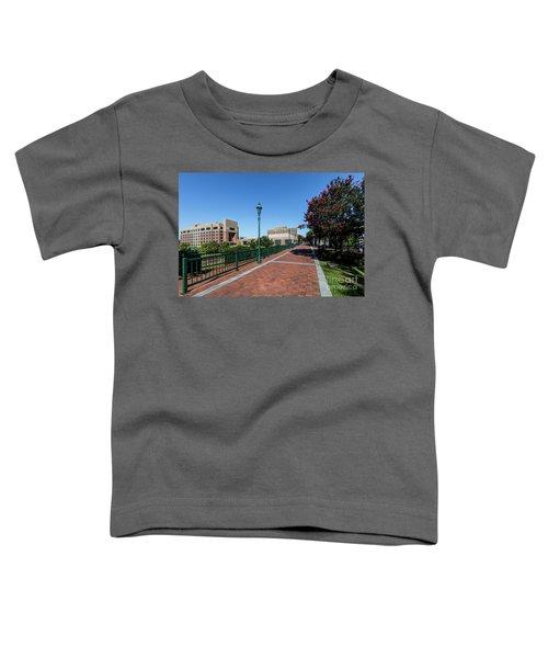 Riverwalk Downtown Augusta Ga Toddler T-Shirt