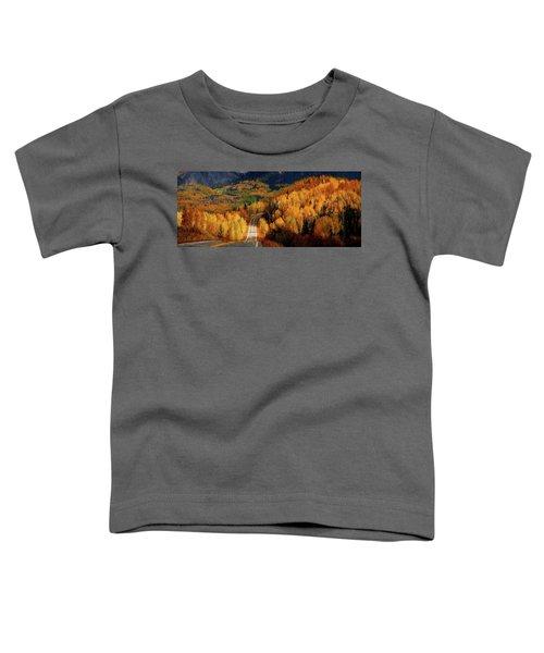 Road Less Traveled Toddler T-Shirt