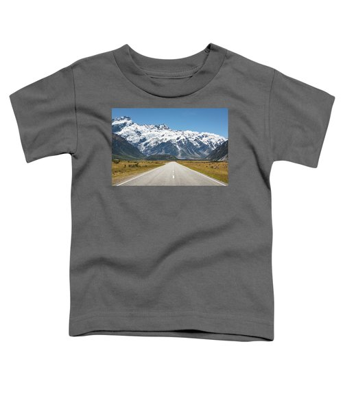 Road Trip In The Southern Alps Toddler T-Shirt