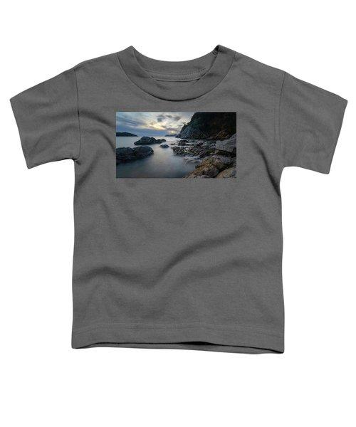 Rocky Coast Near Dubrovnik Toddler T-Shirt