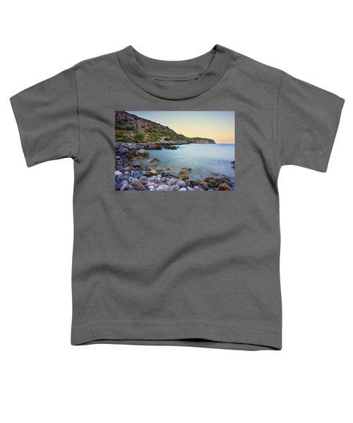 Rocky Coast Near Monemvasia Toddler T-Shirt