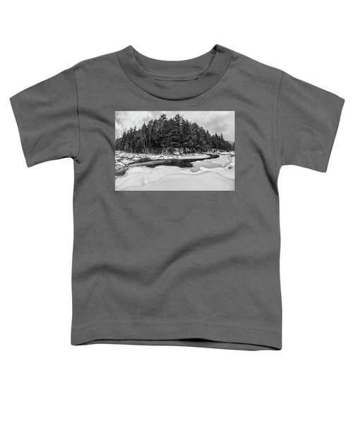 Rocky Gorge N H, River Bend 1 Toddler T-Shirt