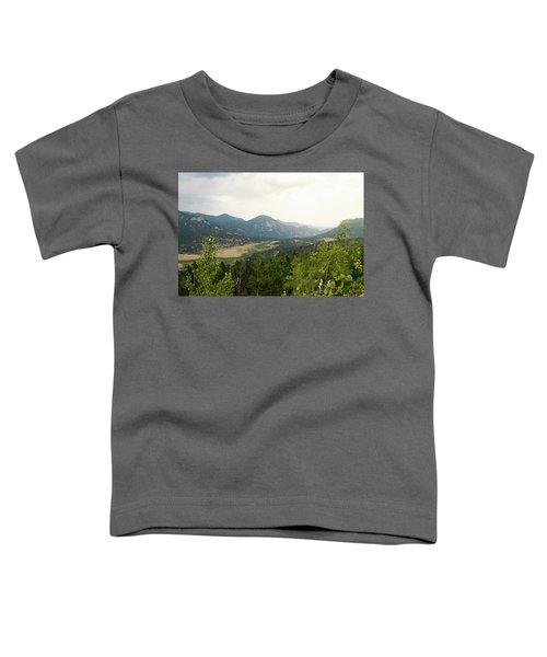 Rocky Mountain Overlook Toddler T-Shirt