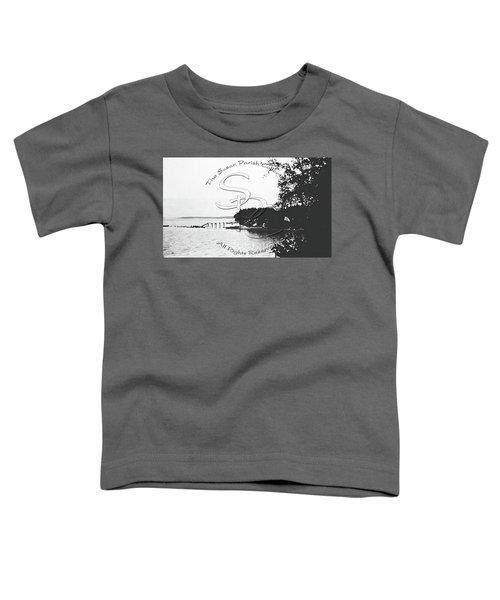Rohr's Dock, Boston Harbor, 1932 Toddler T-Shirt