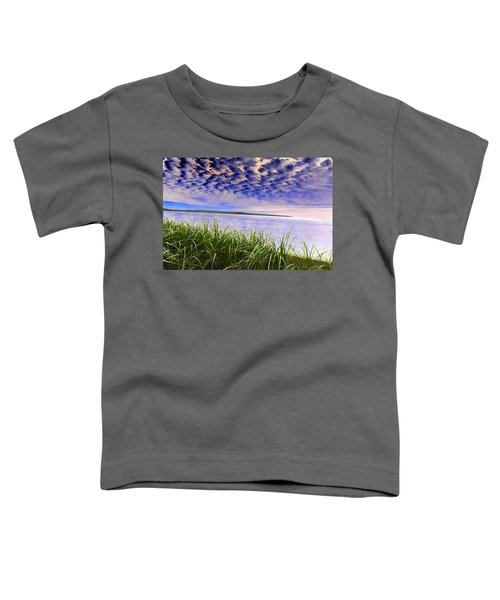 Rolling Blue Sky Over Lake Superior Toddler T-Shirt