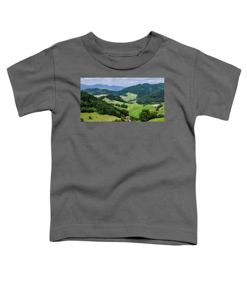 Rolling Hills Of The Black Forest Toddler T-Shirt