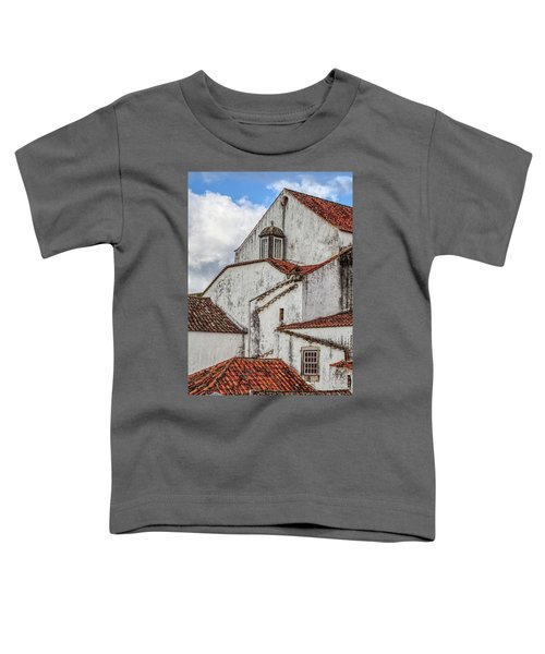 Rooftops Of Obidos Toddler T-Shirt