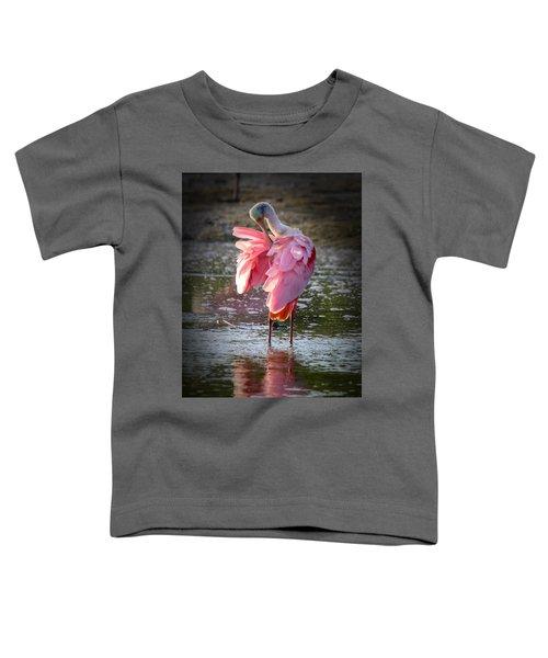 Roseate Spoonbill Toddler T-Shirt