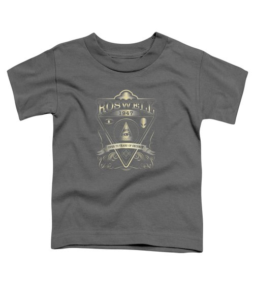Roswell 1947 Alien T Shirt - Vintage Style Ufo, Area 51 Toddler T-Shirt