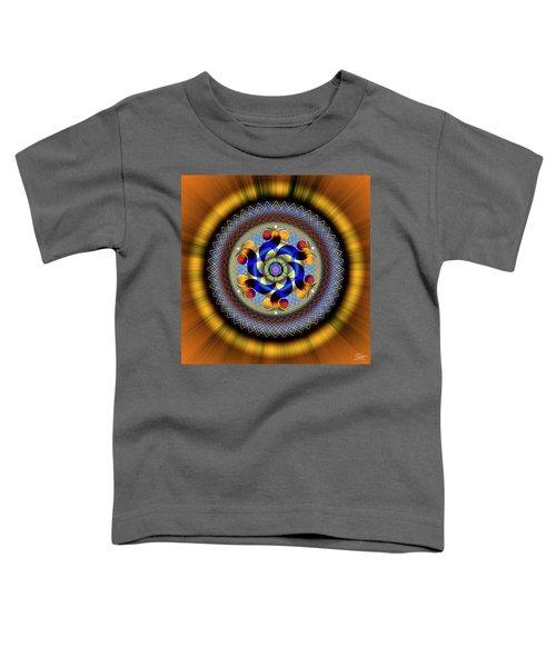 Sacred Geometry 740 Number 1 Toddler T-Shirt