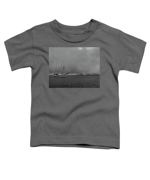 Sail In The Fog Toddler T-Shirt