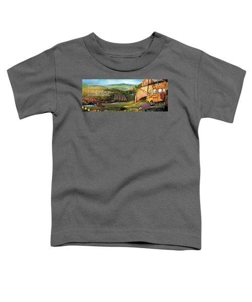 Sailbus Flight Home Toddler T-Shirt