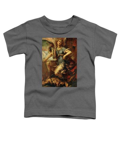 Saint Michael The Archangel Toddler T-Shirt