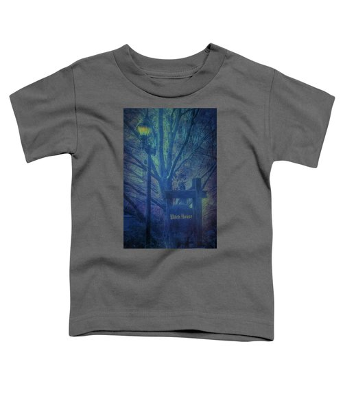 Salem Massachusetts  Witch House Toddler T-Shirt