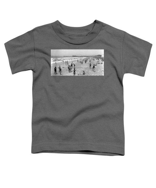 Santa Monica Beach Circa 1920 Toddler T-Shirt