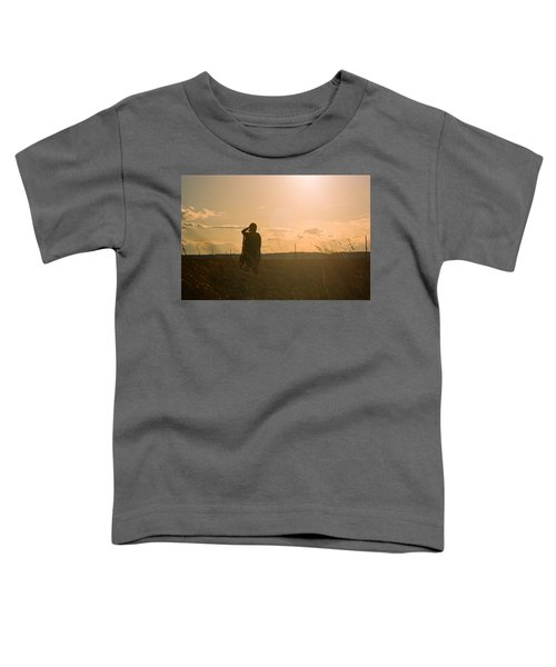 Toddler T-Shirt featuring the photograph Sarah In Sunlight by Carl Young