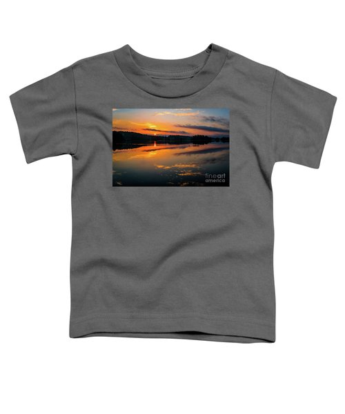 Savannah River Sunrise - Augusta Ga 2 Toddler T-Shirt