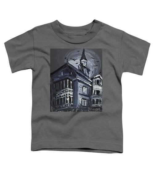 Scary Old House Toddler T-Shirt