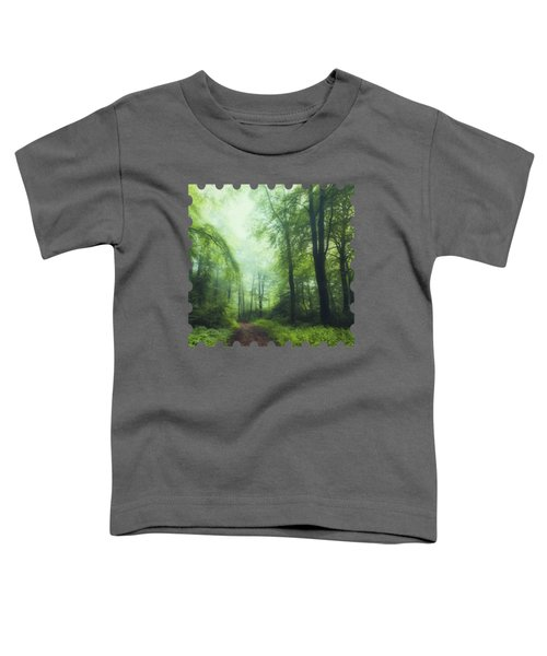 Scent Of Summer In The Forest Toddler T-Shirt