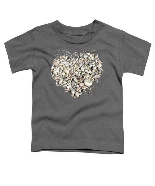 Schoolhouse Beach Rocks On Washington Island Door County Toddler T-Shirt